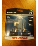 2 NEW Sylvania Silverstar Ultra H11 Light Bulbs 12.8V 55W  - $19.79
