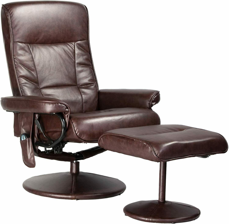Relaxzen 60-425111 Deluxe Massage Recliner Chair 8 Motors Heat Foot Stool Comfy - $560.00