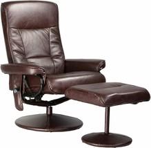 Relaxzen 60-425111 Deluxe Massage Recliner Chair 8 Motors Heat Foot Stoo... - £404.92 GBP