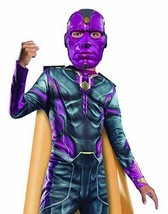 rubies marvel avengers vision fancy dress jump suit 5 to 7 and 8 to 10 y... - $32.66