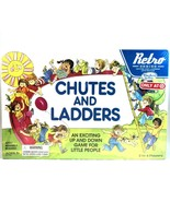 Hasbro Chutes And Ladders Game Retro Series 1978 Edition Kids Board Game... - $14.84