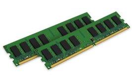 Kingston Value Ram 2GB Kit (2x1GB) 667MHz DDR2 Non-ECC CL5 240-Pin Unbuffered Dim - $10.21