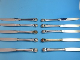 10 Eternally Yours Antique Silverplate Dinner Knives by 1847 Rogers Int'... - $99.00