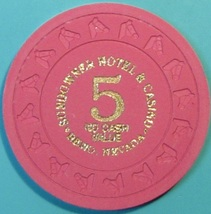 $5 NCV Casino Chip, Sundowner, Reno, NV. T49. - $14.50