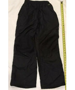 WHITE FIR Youth Snowboard Black Snow Ski Pants Size Youth L Draw String ... - $8.17