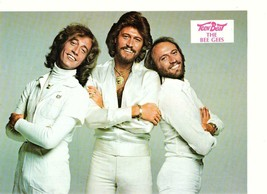 Bee Gees white pants 1970's Teen Beat magazine Too Much Heaven pinup - $3.50