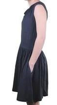 Bench Giovane Donna Navy Pincrop Misto Cotone Casual Estivo Vestito L XL Nwt image 2