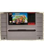 ☆ Super Mario Kart (Super Nintendo 1992) RARE SNES Game Cart Tested Works ☆ - $42.39