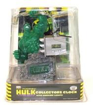 THE INCREDIBLE HULK Marvel Comics DIGITAL COLLECTOR CLOCK TEK TIME + LIG... - $29.69