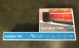 Samsung HW-T450 2.1ch Soundbar with Dolby Audio (2020) - Black - $188.10