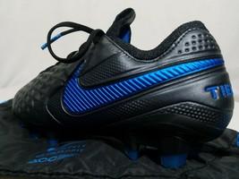 Nike Tiempo Legend 8 Elite Soccer Cleats FG Men's 6.5 Black Women's 8 AT5293-004 - $109.99