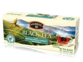 MABROC Pure Ceylon Natural Black Tea 25 Tea Bags 50g Free Shipping - $7.87