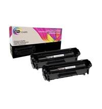 2x Q2612A 12A Black Toner Cartridge for HP LaserJet 1018  1020 1022 1012n - $20.97