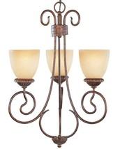 Bronze Chandelier Pendant Foyer Hall Stairs Light Designers Fountain Lig... - €127,54 EUR