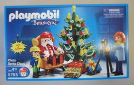 New Sealed Playmobil Seasonal Photo Santa Claus 5753 NIB - $54.00