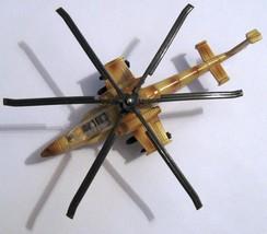 KA-50 Hokum Helicopter Gunship Die Cast Metal Soviet Russian 1980's Vintage - $29.69