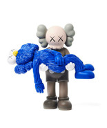 KAWS Original Fake Gone Companion GREY medicom toy Genuine Rare - $1,299.99