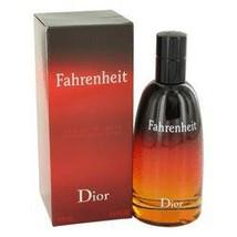 Fahrenheit Cologne  By Christian Dior for Men 3.4 oz Eau De Toile... - $95.50