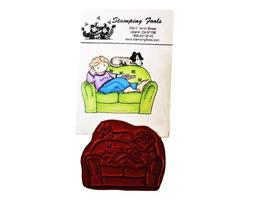 Stamping Fools Rubber Cling Stamp, Jason #111A