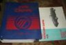 1991 MERCURY CAPRI Service Repair Shop Workshop Manual Set EVTM Factory ... - $197.95