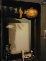 pawn stars gold and silver picture frame with bobblehead rick  - $22.99