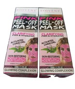 Biovène Pink Peel Off Mask,  With Activated Charcoal, 2 Pack 4.2 oz Tube - $12.99