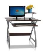 Bedroom Student Desk Wood Shelves Office Writing School Study Computer F... - $77.02