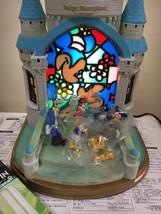 Disney Daiichi Seime Cinderella Castle Stained Glass Sleeping Beauty Cas... - $630.63