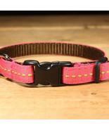 Berry Lime Grosgrain Adjustable Cat Collar / Made in Japan - $22.00