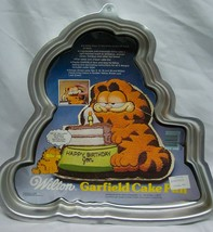 Vintage 1981 Garfield Cat Wilton Birthday Cake Pan 1980's Baking - $24.74