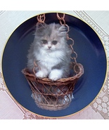 Purr Swayed Lovable Kittens Collector Plate Armstrong Porcelain - $19.99
