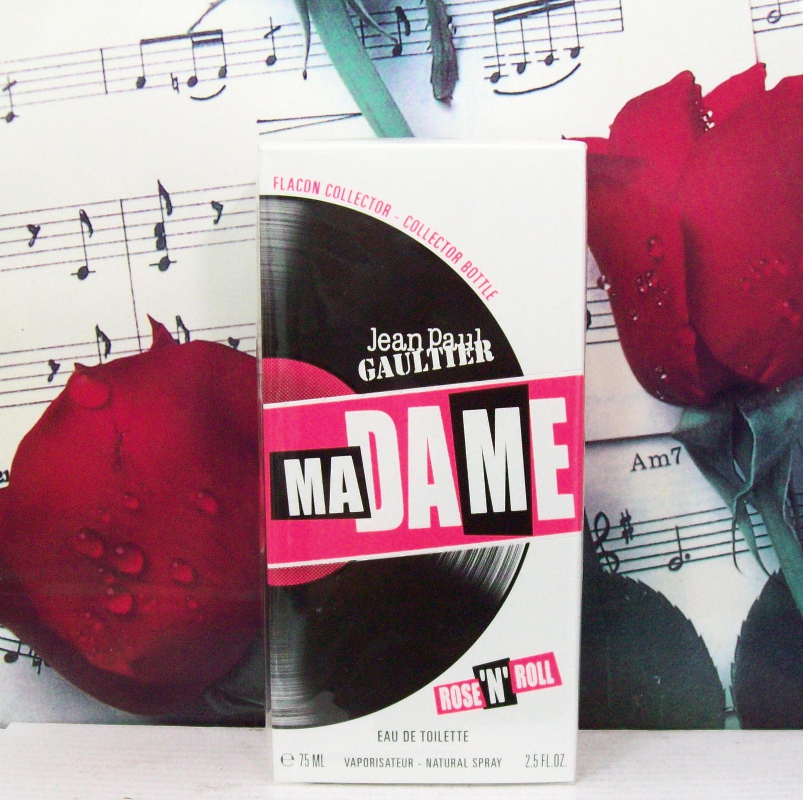 Jean Paul Gaultier Madame Rose N Roll EDT Spray 2.5 FL. OZ. - $139.99