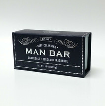 San Francisco Deep Cleansing Silver Sage & Bergamot Fragrance Soap Bar 1... - $23.99