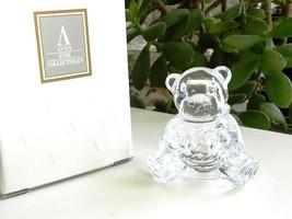 1994 Avon Precious Baby Treasures Teddy Bear, Lead Crystal, Baby's First... - $10.00