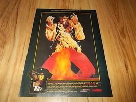 Jimi Hendrix-1992 magazine advert - $5.72
