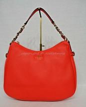 NWT Kate Spade Pine Street Finley Satchel/Shoulder Bag in Geranium Brigh... - $235.00