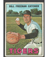 Detroit Tigers Bill Freehan 1967 Topps Baseball Card #48 good - $1.25