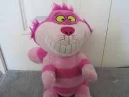 Disney Store Alice Wonderland Cheshire Cat cheshire sitting plush Stuffe... - $9.59