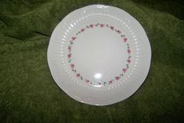 "Shabby Cottage Pink Floral Design Gibson Salad Lunch Dessert Plate ~ 8"" - $4.00"