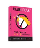 REBEL DECK - The Oracle with Attitude - Oracle Deck 60 Cards - $24.26