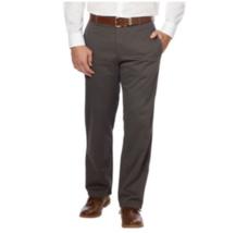Calvin Klein, Men's, Flat Front Chino Pants, Fatigue Gray, Variation - £19.11 GBP