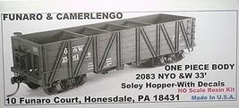 Funaro & Camerlengo HO NYO&W 33' Seley Hopper Kit 2083 image 1