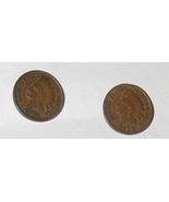 1898 & 1899 Indian Head penny Pierced earrings - $19.95