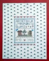 Heirloom Embroidery Alphbet Sampler No. 700 Needles n Hoops NIP Kit - $19.79