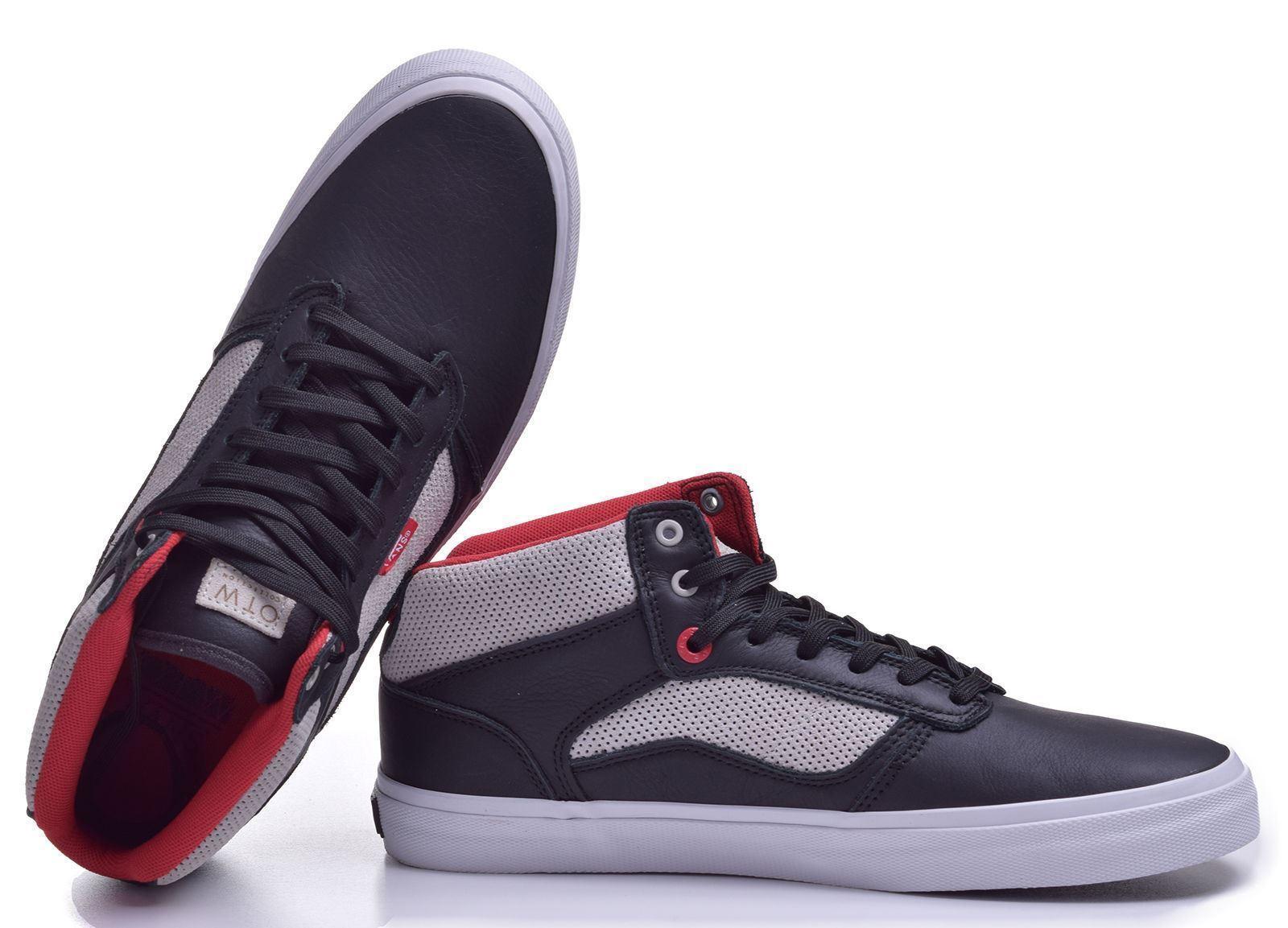 Vans Bedford (LS) Black/Moon OTW Skate Shoes MEN'S 6.5 WOMEN'S 8 image 3