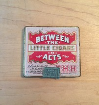 Vintage Between the Acts little cigars tin packaging image 1