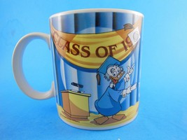 Vintage Mickey Mouse Minnie & Donald Graduation Mug Disney  Korea - $8.90