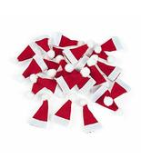 24pcs Christmas Holiday Santa Hats Christimas Crafts Decoration Embellis... - $23.75