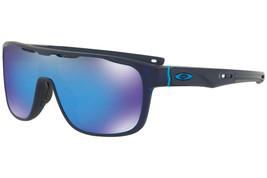 Oakley Crossrange Schild OO9387-05 Matt Lichtdurchlässig Blau/Prisma Saphir - $179.22