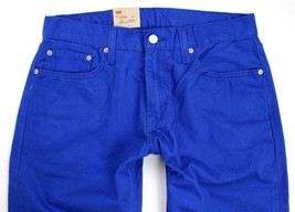 Levi's Strauss 514 Men's Original Slim Fit Straight Leg Jeans Blue 514-0446 image 2